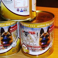 کنسرو سگ پوتي با طعم گوشت سفيد